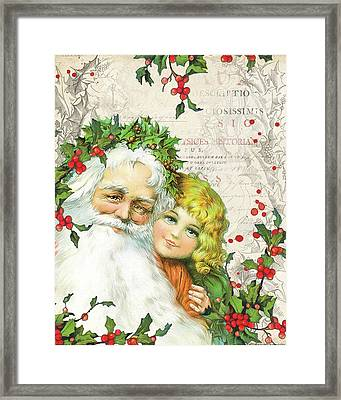 Vintage Holiday IIi Framed Print by Katie Pertiet