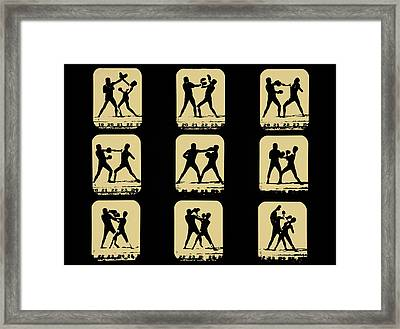 Vintage - How To Box Framed Print by Bill Cannon