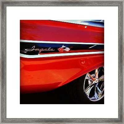 Vintage Impala Framed Print