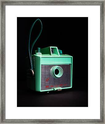 Vintage Imperial Savoy Camera Framed Print by Jon Woodhams