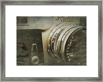 Vintage Kiev Camera Framed Print