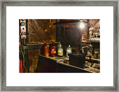 Vintage Laboratory Framed Print by Paul Ward