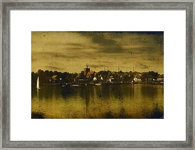 Framed Print featuring the digital art Vintage Maldon  by Fine Art By Andrew David