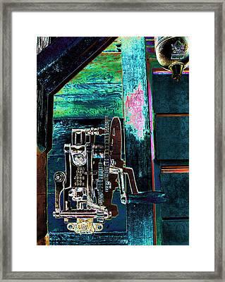 Vintage Metal Framed Print by Sylvia Thornton