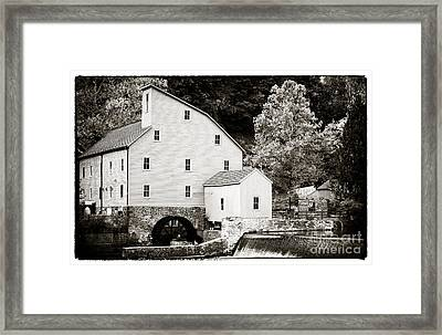 Vintage Mill Framed Print by John Rizzuto