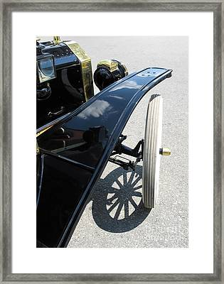 Framed Print featuring the photograph Vintage Model T by Ann Horn