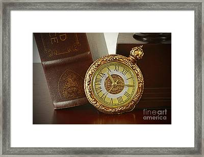 Vintage Moments In Time Framed Print by Inspired Nature Photography Fine Art Photography