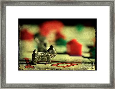 Vintage Monopoly Framed Print by Michael Eingle
