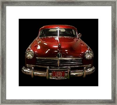 Vintage Montana Cool Framed Print by Daniel Hagerman
