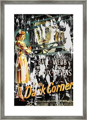 Vintage Movie Poster 1 Framed Print by Andrew Fare