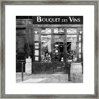 Vintage Paris 11c Framed Print by Andrew Fare