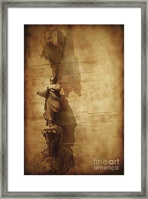 Vintage Photo Of Duomo Architecture Framed Print by Evgeny Kuklev