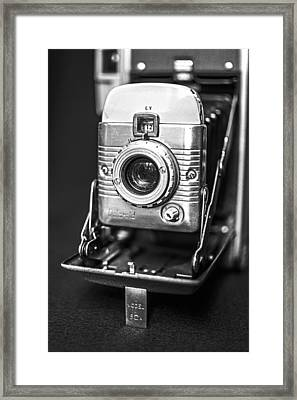 Vintage Polaroid Land Camera Model 80a Framed Print