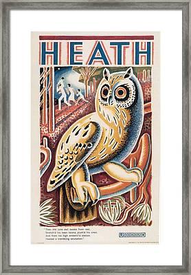 Vintage Posters Framed Print by Fine Art