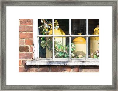 Vintage Pots Framed Print by Tom Gowanlock