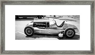 Framed Print featuring the photograph Vintage Racing Car by Gianfranco Weiss