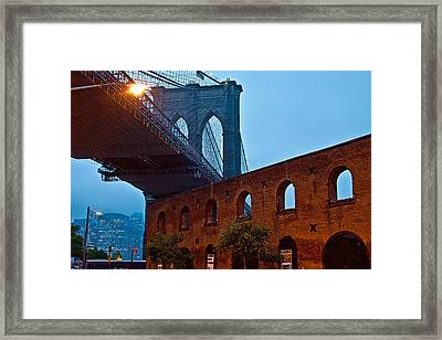 Vintage Road Framed Print by Michael Murphy