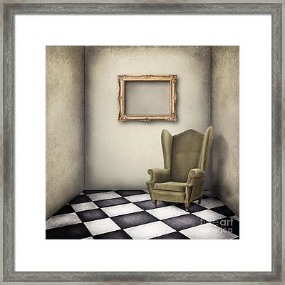 Vintage Room Framed Print