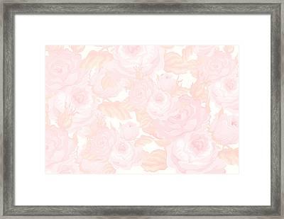 Vintage Rose Framed Print by Chastity Hoff