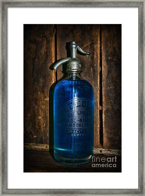 Vintage Seltzer Bottle  Framed Print