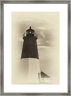 Vintage Sentinel Framed Print by Nancy De Flon