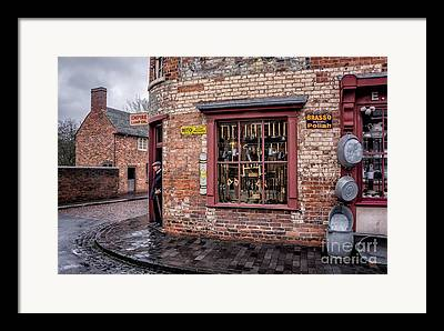 Historic Country Store Digital Art Framed Prints