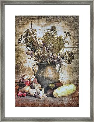 Vintage Still Life Framed Print