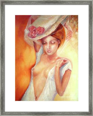 Framed Print featuring the painting Vintage Summer by Michael Rock