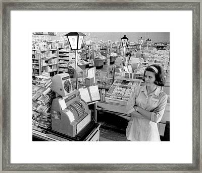 Vintage Supermarket Vintage #04 Fine Art Print Framed Print