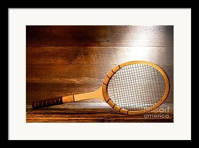 Racket Photographs Framed Prints
