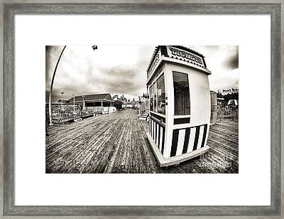 Vintage Tickets Framed Print by John Rizzuto