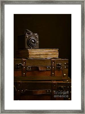 Vintage Travel Framed Print