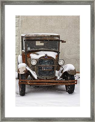 Vintage Treasures Framed Print by Kimberly Danner
