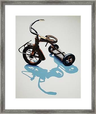 Vintage Trike Framed Print
