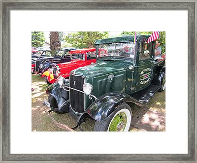 Vintage Truck  Framed Print by Max Lines