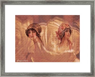 Vintage Victorian Rivals II Framed Print