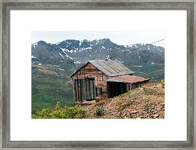 Vintage View Alaska Framed Print by Ron Day