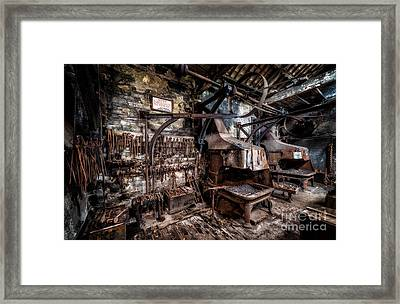 Vintage Workshop Framed Print by Adrian Evans