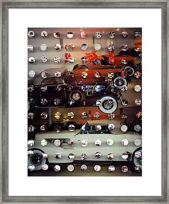 Vintagecars2 Framed Print by Irmari Nacht
