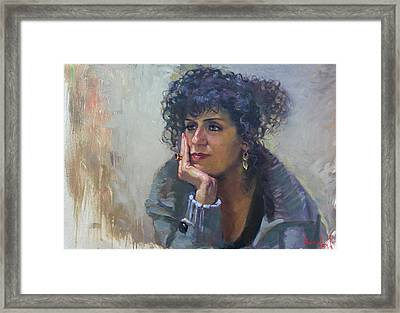 Viola Framed Print by Ylli Haruni
