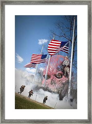 Violence Usa Framed Print