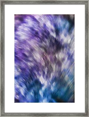 Violet Breeze Framed Print