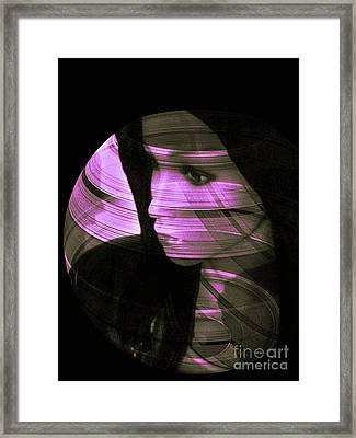 Violet Love  Framed Print