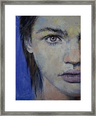 Violet Framed Print by Michael Creese