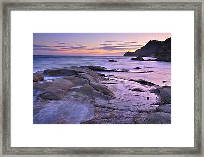 Violet Place Framed Print by Guido Montanes Castillo