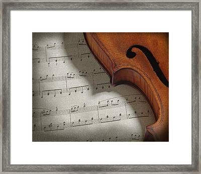 Framed Print featuring the photograph Violin by Krasimir Tolev