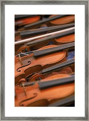 Violins Framed Print
