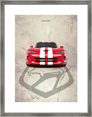Viper Gts Framed Print by Mark Rogan