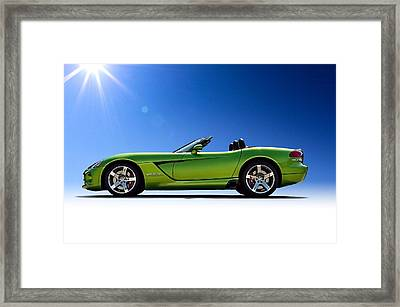 Viper Roadster Framed Print