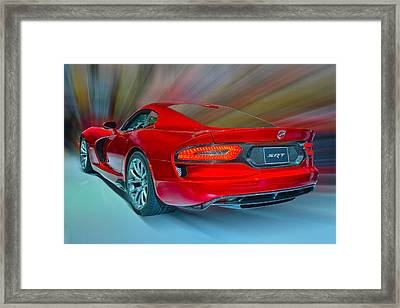 Viper S R T 2013 Framed Print